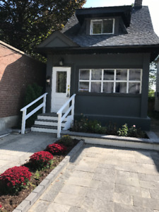 Detached House for Rent In Gowan Avenue ( and pape )