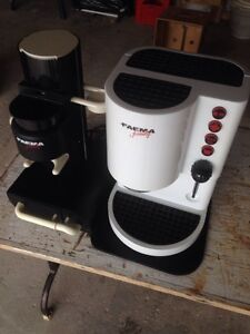 Faema Family Coffee Maker and Grinder