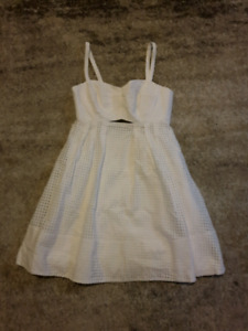 Club Monaco White Eyelet Dress 4