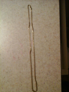 10k solid gold cuban link chain. 24 inches