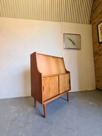 Danish Mid Century Bureau Desk