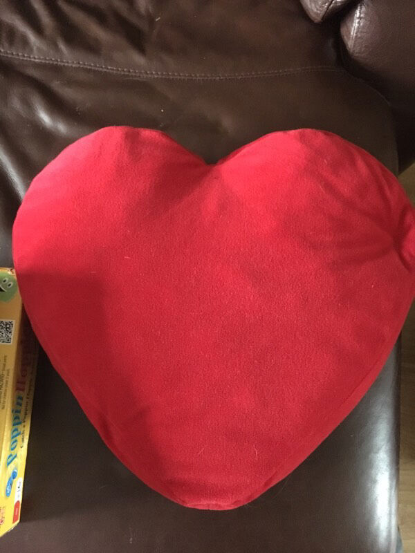 Red Heart Cushion ❤️