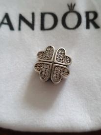 Pandora petals of love charm