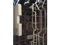 Full sized free standing dishwasher