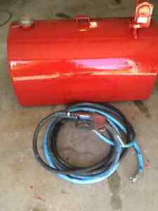 Slip tank 500 liter with 30 hose