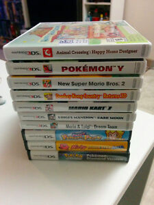 Collection of DS + 3DS games