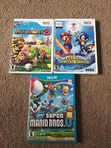 Wii and Wii U games!