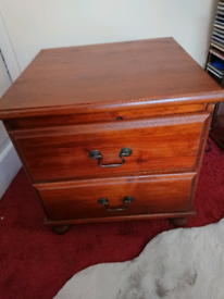 REDUCED 14th Pine chest of drawers,bedside table. No mdf.20 free dvds