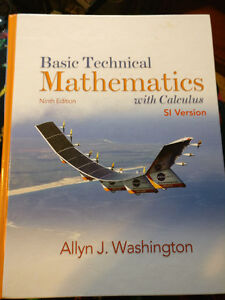 Basic Technical Mathematics with Calculus, Ninth Edition