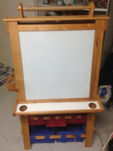Kids Art easel with storage