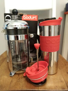Bodum 8 Cup French Press plus Travel Press