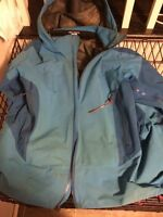 Arc'teryx winter coat outer shell