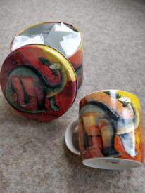 Dinosaur Mug & Matching Gift Tin
