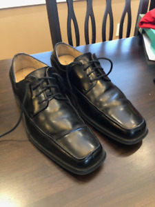 Florsheim Curtis Leather Waterproof Oxfords Men 8.5 MSRP $150
