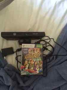 Kinect for xbox 360 with one game