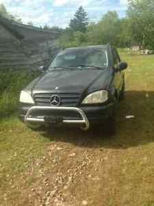 1999 Mercedes-Benz ml430 trade or sell