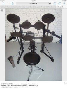 Roland TD-3 Electronic Drum Set