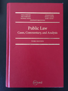 Public Law: Cases, Commentary, and Analysis, 3rd Edition
