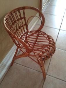 Handmade bamboo decorative chair for display London Ontario image 2