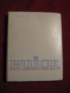 1965 Buick Showroom Album