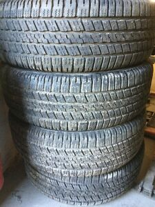 "20"" goodyear tires like new"