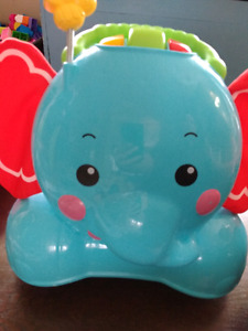 Fisher Price 3-in-1 stride and ride elephant