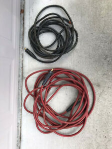 HEAVY DUTY WELDING CABLES 600V with TWECO Ends