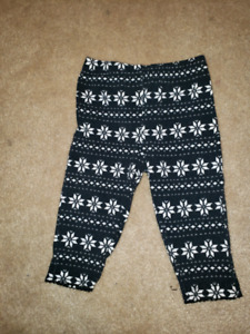 3 month snowflake tights