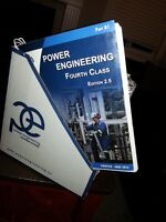 4th Class Power Engineering books Edition 2.5 printed June 2012