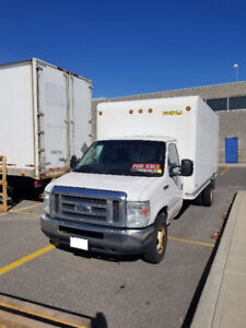 2010 Ford E450 16 ft Cube Truck Van 5.4L V8 with Unicell Box