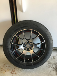Bridgestone Ecopia EP 422 Plus Tires with Advanti Racing Rims