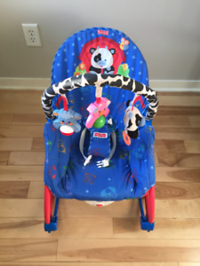 Chaise de Bebe Vibrante ** Fisher Price **Vibrating Baby Chair