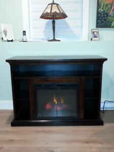 Classic Flame Electric Fireplace and TV/Media Console