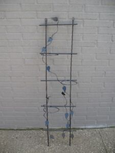 BLACK METAL 3 TIER PLANT STAND