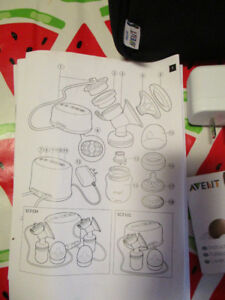 Philips Avent Comfort Double Electric Breastpump with extras