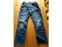 G Star jeans, 34/34, blue