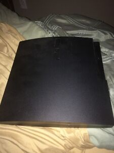 Ps3 slim with games and one controller Negociable