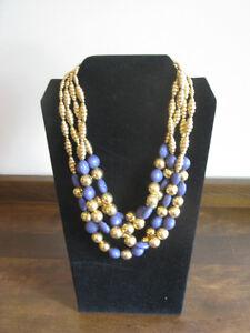 Vintage 4-Strand Necklace ~ Retro!