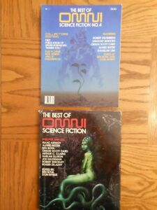 Best of Omni Science Fiction two book lot