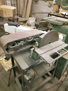 Metal and Wood Equipment For Sale