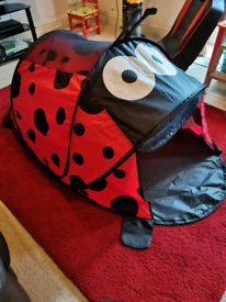 Ladybird pop up play tent