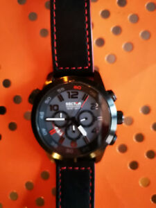 Sector watch oversize (hi end) waterproof 10 ATM.
