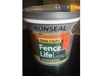 Ronseal paint unopened