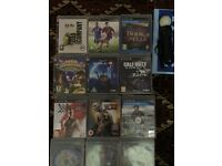 PS3 GAMES AND WONDERBOOK AND PS MOVE