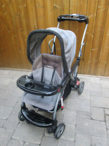 BABY TREND DOUBLE BABY STROLLER FOR SALE