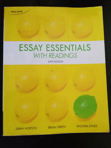 ESSAY ESSENTIALS WITH READINGS sixth edtion Kitchener / Waterloo Kitchener Area image 1