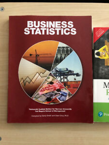 QMS 202 - Business Statistics 13th Custom Edition for Ryerson U