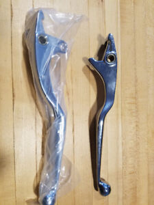 Chrome  levers Kawasaki