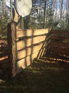 Hemlock Fence Boards