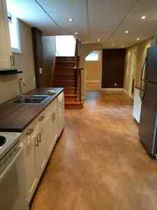 Renovated 1 Bedroom Apt  (x-large 1200 sq ft)   Lawrence & Briml